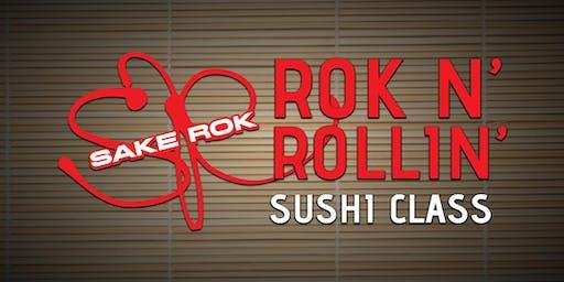 October ROK n' Rollin' Sushi Classes