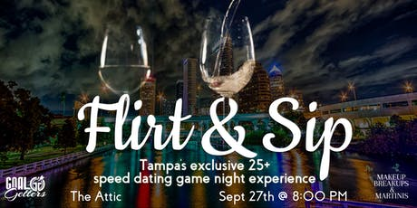 Flirt & Sip: An Exclusive Speed Dating Game Night Experience tickets