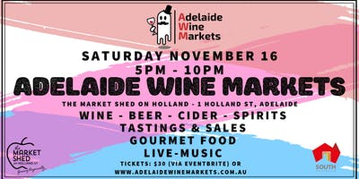 Adelaide Wine Markets - Nov 16th