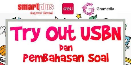 Try Out USBN dan Pembahasan Soal Bersama Gramedia, Smartplus & Deli tickets