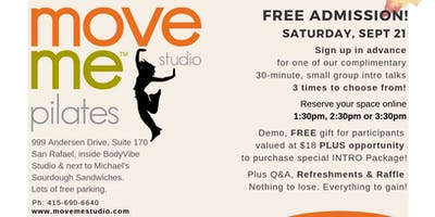 FALL Into Fitness • Pilates Intro Day