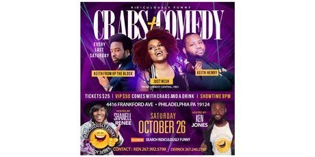 Ridiculously Funny Comedy Series OCTOBER tickets