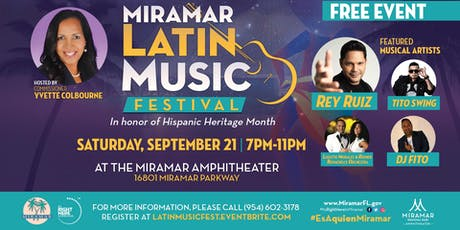 Latin Music Festival tickets