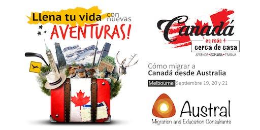 Seminario Canadá es más. Cómo migrar a Canadá desde Australia.