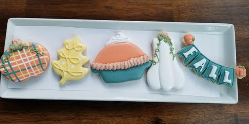 Beginner Fall Cookie Decorating Class at Southport Farmhouse Market