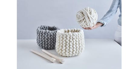 Knit a Chunky Basket with Love Fest Fibers! (2019-10-15 starts at 7:00 PM) tickets