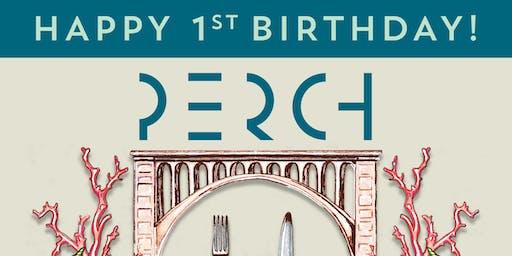 Happy 1st Birthday, Perch!