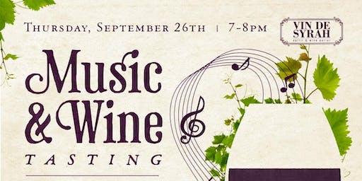 Music & Wine Tasting