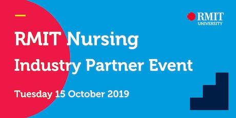 RMIT Nursing Industry Partner Event tickets