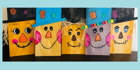Scarecrow Painting on Wood tickets