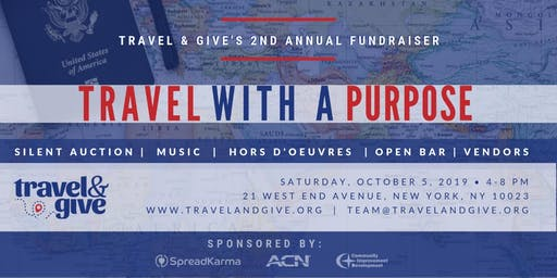2nd Annual Travel With a Purpose Fundraiser