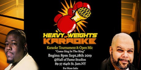 "KARAOKE KAFE:  "" Heavy Weights of Karaoke"" Contest 2019 tickets"
