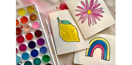 Neighborhood Craft Night: Watercolor Cards with Jenny Lemons! (2019-10-03 starts at 6:00 PM) tickets