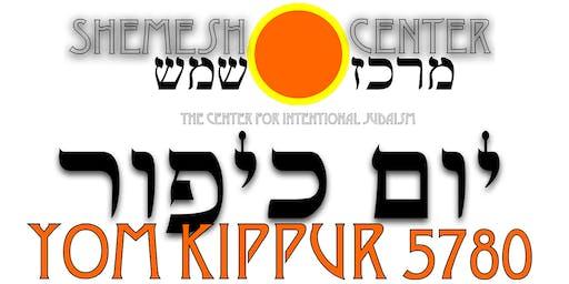 Shemesh Center & Zohar Yisrael - Yom Kippur 5780