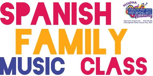 Spanish Multi-instrumental Singing, Music & Creative Movement Class for Families