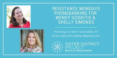 Resistance Mondays Phonebanking: September & October 2019 (Scarsdale) tickets