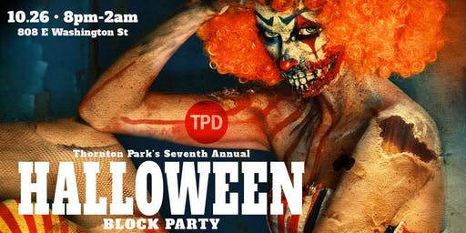 Thornton Park's 7th Annual Halloween Block Party (21+ age restriction)