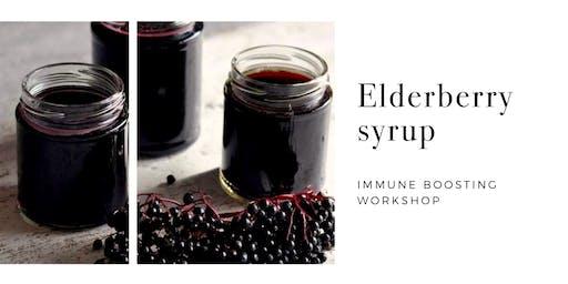 Elderberry Syrup Making / Immune Boosting