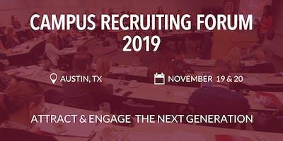 Campus Recruiting Forum 2019 - Austin, TX