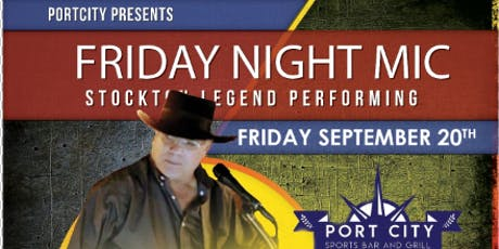 Frank Banuelos at Port City Sports Bar & Grill tickets