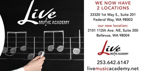 Live Music Academy Grand Opening tickets