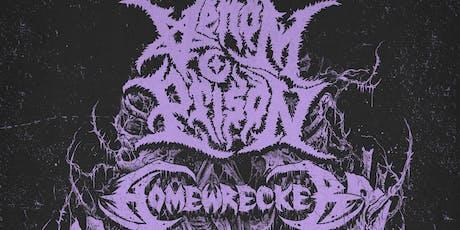 Homewrecker, Venom Prison, Great American Ghost, Goura at Santos tickets