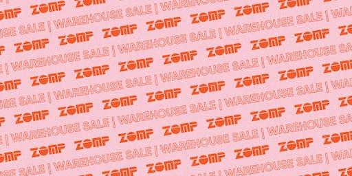 Zomp Sydney Warehouse Sale - VIP PREVIEW