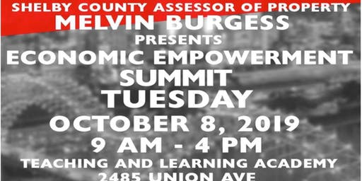 Economic Empowerment Summit Sponsored by Shelby County Assessor of Property