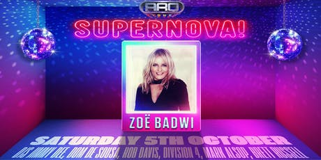 SUPERNOVA ft ZOE BADWI @ ARQ SYDNEY tickets