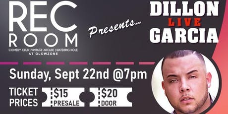 Dillon Garcia Live tickets