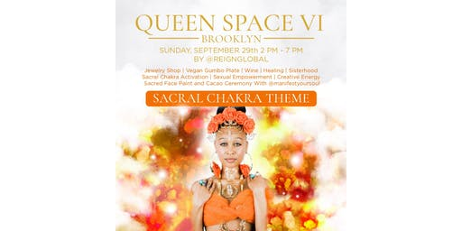 Orange Queen Space: Jewelry Pop-Up and Healing Circle #6