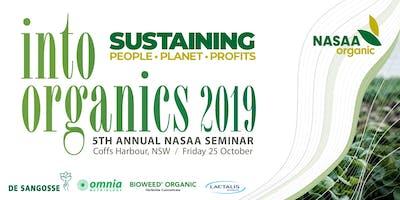 Into Organics Seminar - Friday 25th / Field Day - Thursday 24th October