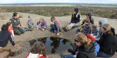 Junior Rangers Big Rock Cultural Experience - You Yangs Regional Park