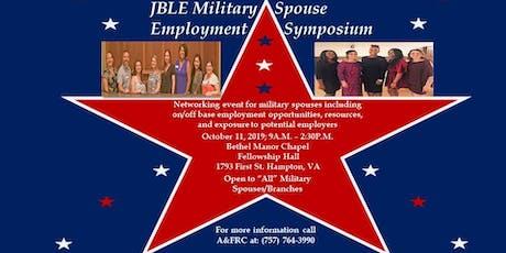 JBLE Military Spouse Employment Symposium tickets