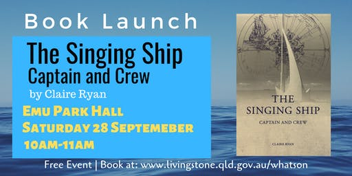 Book Launch:The Singing Ship Captain and Crew