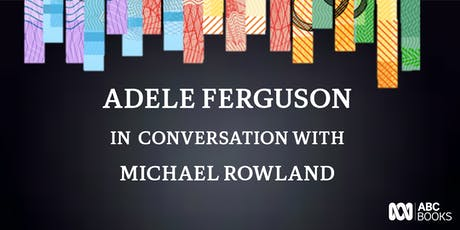 Adele Ferguson in conversation with Michael Rowland discussing Banking Bad entradas