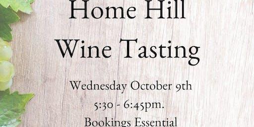 Home Hill Wine Tasting