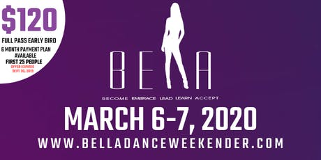 BELLA DANCE WEEKENDER tickets