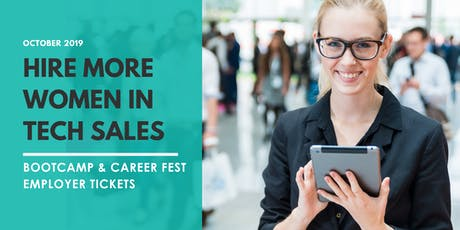 Women in Tech Sales Career Fest - EMPLOYER TICKETS tickets