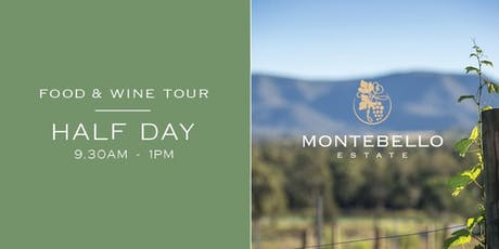 Half Day Sunday Morning Wine Tour tickets
