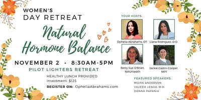 Pilot Lighter's Retreat: Natural Hormone Balance