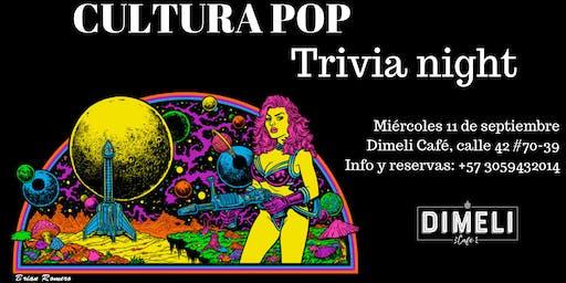 Trivia Night- Culture Pop
