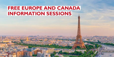APT Europe & Canada Information Session tickets