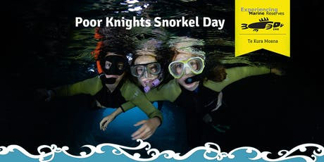Poor Knights Snorkel Day tickets