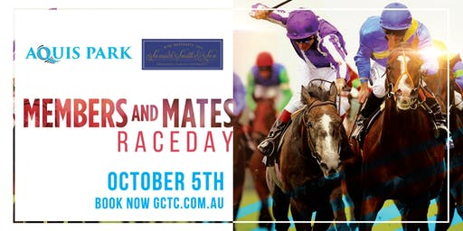 Members and Mates Day - SOLD OUT