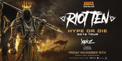 SAUCE Boston ft. Riot Ten at Middle East Downstairs 11.15.19