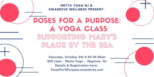 Poses for a Purpose: A Yoga Class to Benefit Mary's Place by the Sea