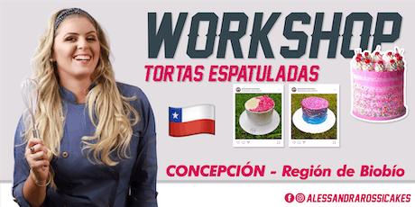 Workshop Tortas Espatuladas - CONCEPCIÓN entradas