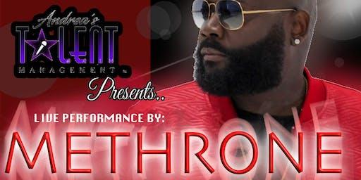 R&B Singer Methrone