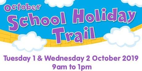 October School Holiday Trail tickets